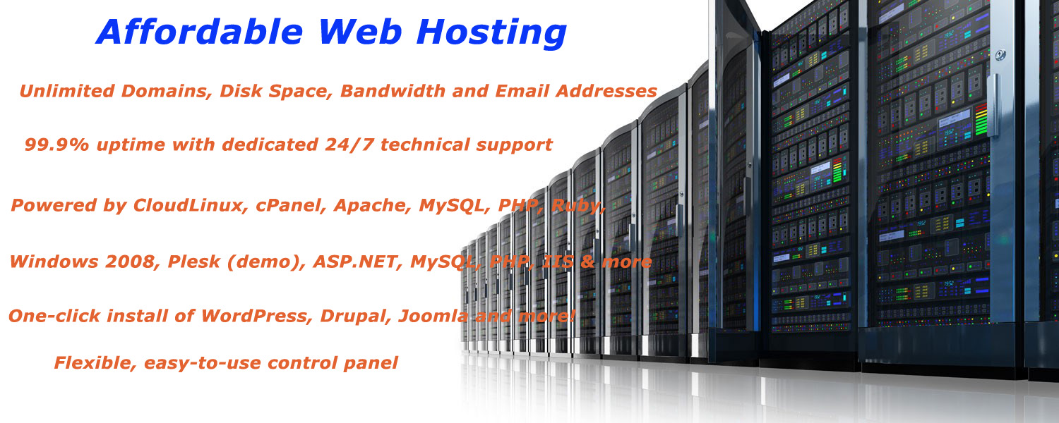 affordable web hosting provider company