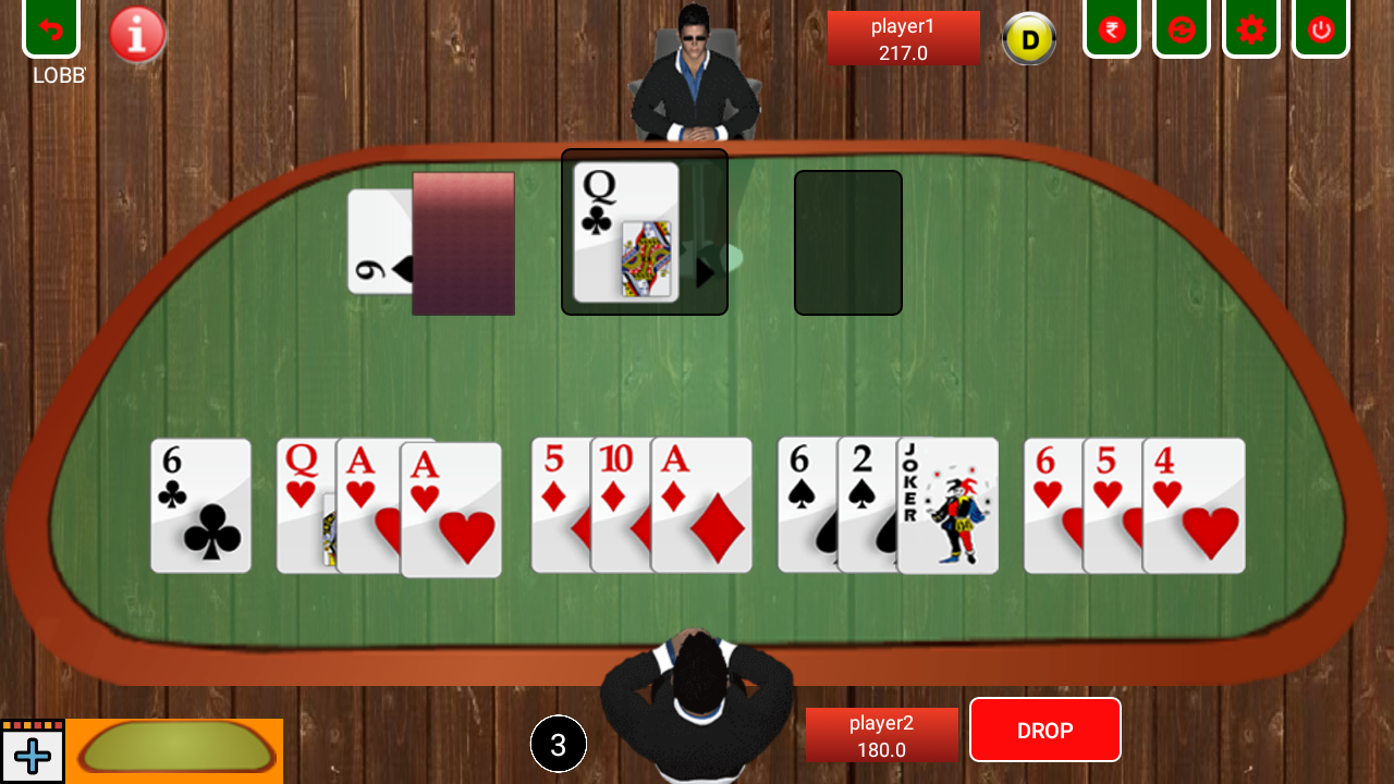 Rummy game android app