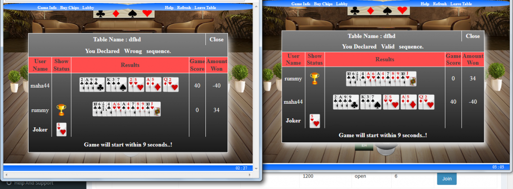 how to develop real time rummy game