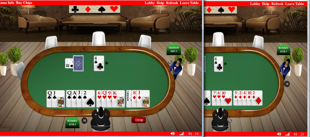real time multiplayer rummy game developers