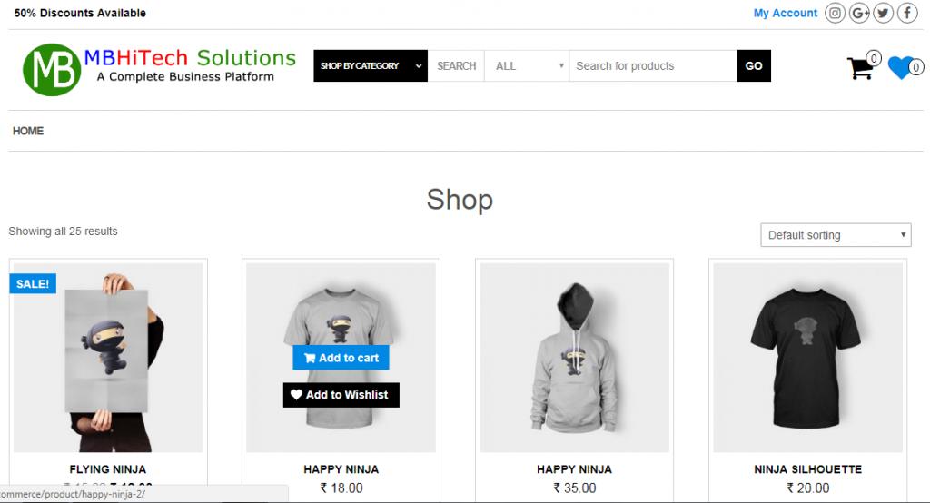 e-commerce software development company India
