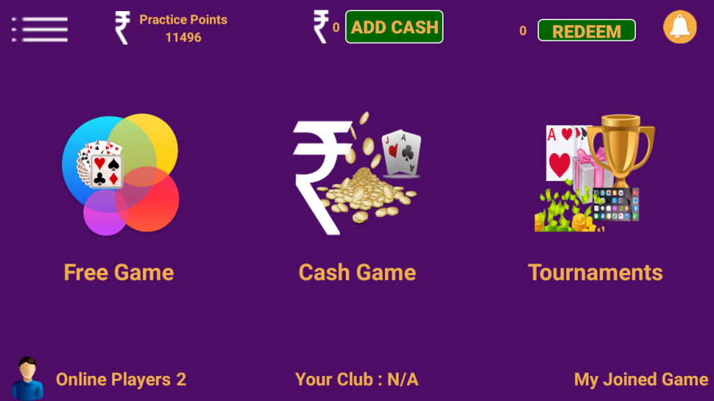 rummy game mobile app